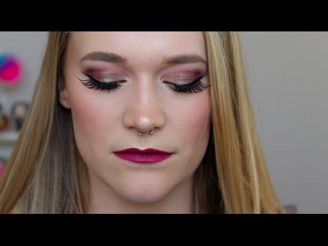 My Lips Are Uneven!! | Natasha Denona Tutorial | Purples!!