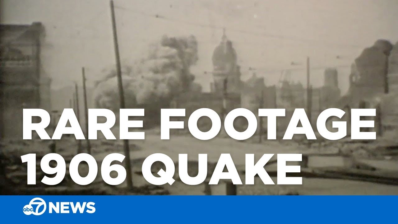 Rare footage of San Francisco after 1906 earthquake found at flea market