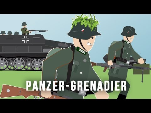 PanzerGrenadier (World War II) Mechanized & Motorized Infantry - YouTube