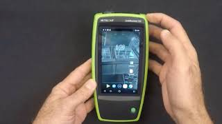Checking out the NETSCOUT LinkRunner G2