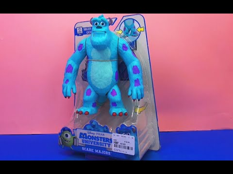 Monster Uni deutsch Sully Monsters Inc Unboxing | deutsch Monsters University Toy review