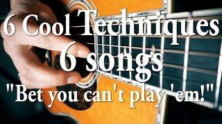 """6 Awesome Techniques 