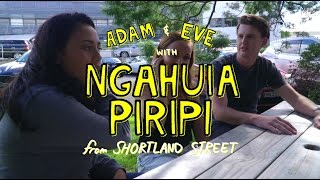 Adam & Eve Meet Ngahuia Piripi from Shortland Street