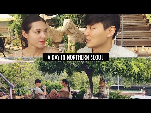 A Day in Northern Seoul (자막)국제커플 데이트의 마무리는 갈매기살 냠냠