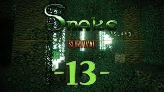 Snake Island Survival Minecraft #13
