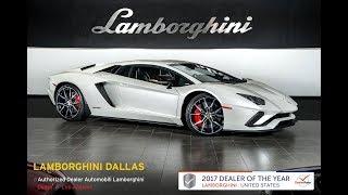 2018 Lamborghini Aventador S Balloon White 18L0065