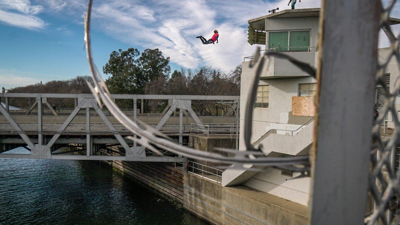 Urban Cliff Jumping | Sacramento Port