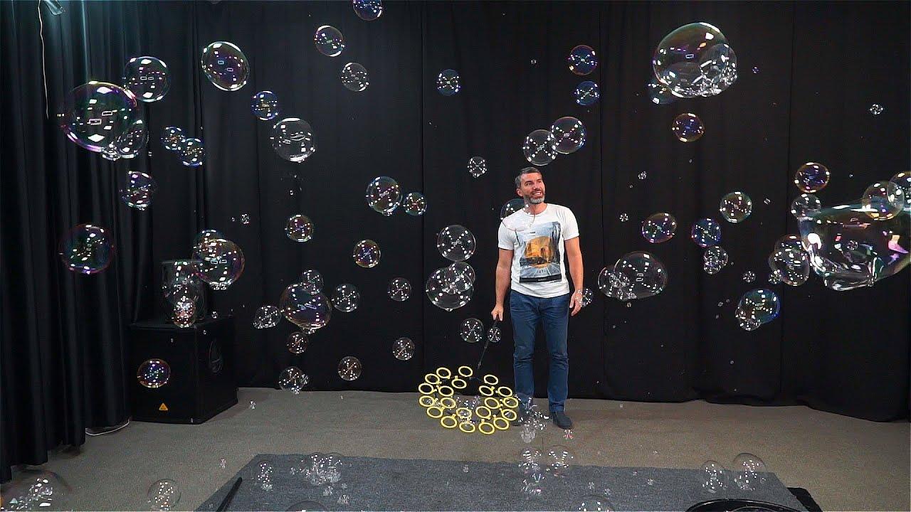 Продажа реквизита для шоу мыльных пузырей