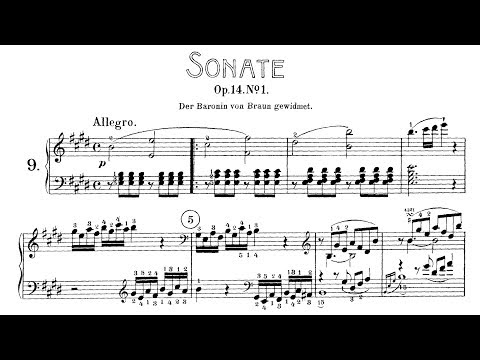 Beethoven: Sonata No.9 in E major, Op.14 No.1 (Korstick, Yokoyama, Jumppanen)