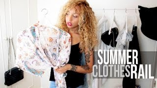 My Summer Clothes Rail Thumbnail
