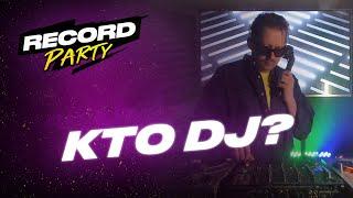 KTO DJ? — Record Party | 2.05.20