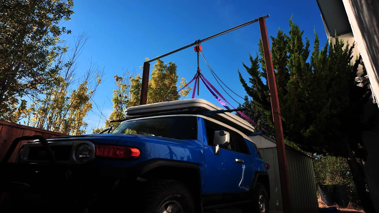 Great Removing Roof Rack (Bajarack) And Roof Top Tent (Autohome Columbus) From My  Toyota FJ Cruiser   YouTube