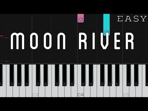Moon River - Audrey Hepburn | EASY Piano Tutorial