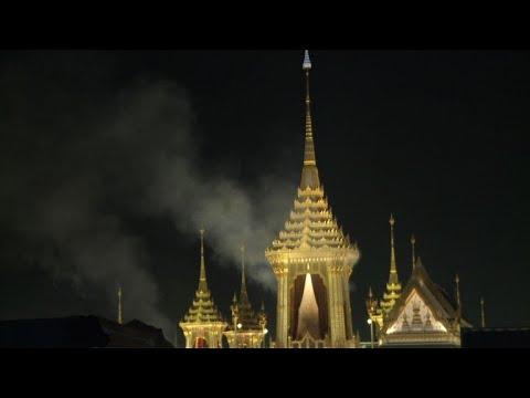 Thaïlande: crémation du roi Bhumibol Adulyadej