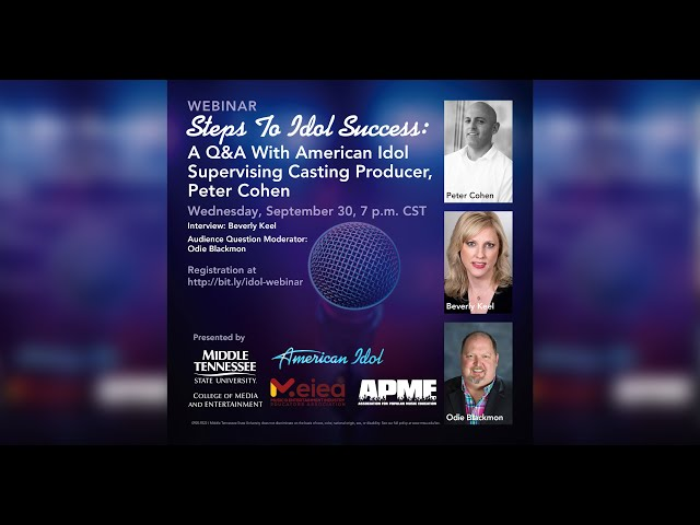 Steps to Idol Success | Q&A with American Idol Supervising Casting Producer, Peter Cohen