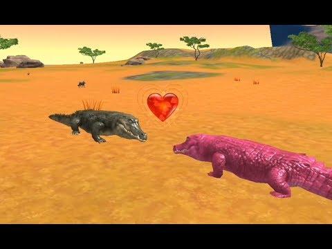 Crocodile Family Sim | Crocodile Find Her Love - Android GamePlay