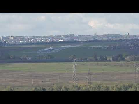 Взлёт самолета с Чебоксаркого аэропорта Чебоксары Москва 21 09 2019