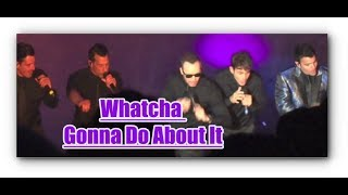 NKOTB Apollo Theater | Whatcha Gonna Do About It | *RARE* | Hangin' Tough 30 years! | Laliland clip