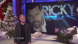 Ricky Martin - Performs a Medley of His Biggest Hits! - Ellen Degeneres Show