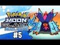 Pokemon Moon Black 2 Nuzlocke Part 5 STOP RESTING! Pokemon NDS Rom Hack