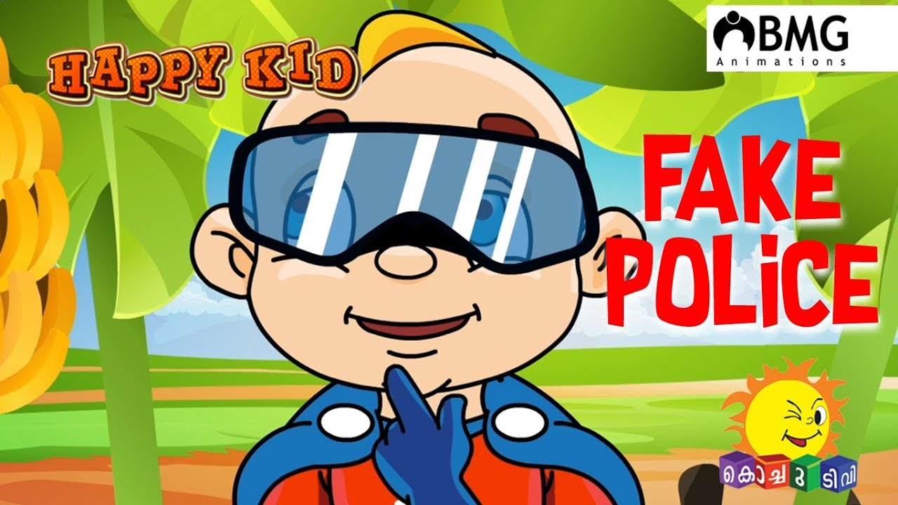 Happy Kid   Fake Police   Episode 101   Kochu TV ...