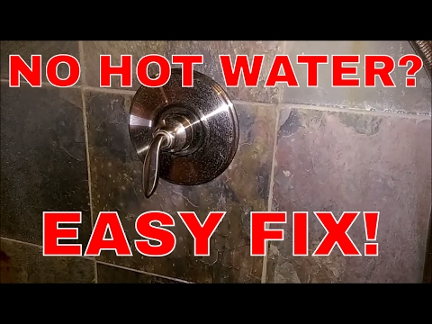 fixing-a-single-handle-shower-fixture-with-no-hot-water!