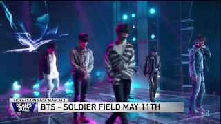 BTS announce world tour, show at Soldier Field May 11