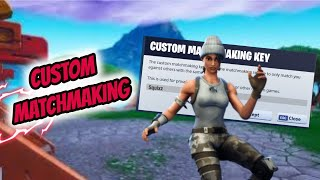 (Na-East) CUSTOM MATCHMAKING SOLO/DUOS/TRIOS/SQUADS FORTNITE LIVE Ps4,Xbox,Pc,SWITCH