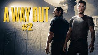 Zagrajmy w A Way Out PL #2 - JESTEŚMY NA WOLNOŚCI! - 1440p
