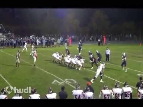 Highlights of Mamaroneck High School quarterback Bill Flatow.