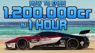 Forza Horizon 3 - How To Earn 1,200,000 CREDITS in 1 HOUR