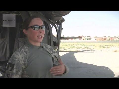 Female Black Hawk Helicopter Pilot