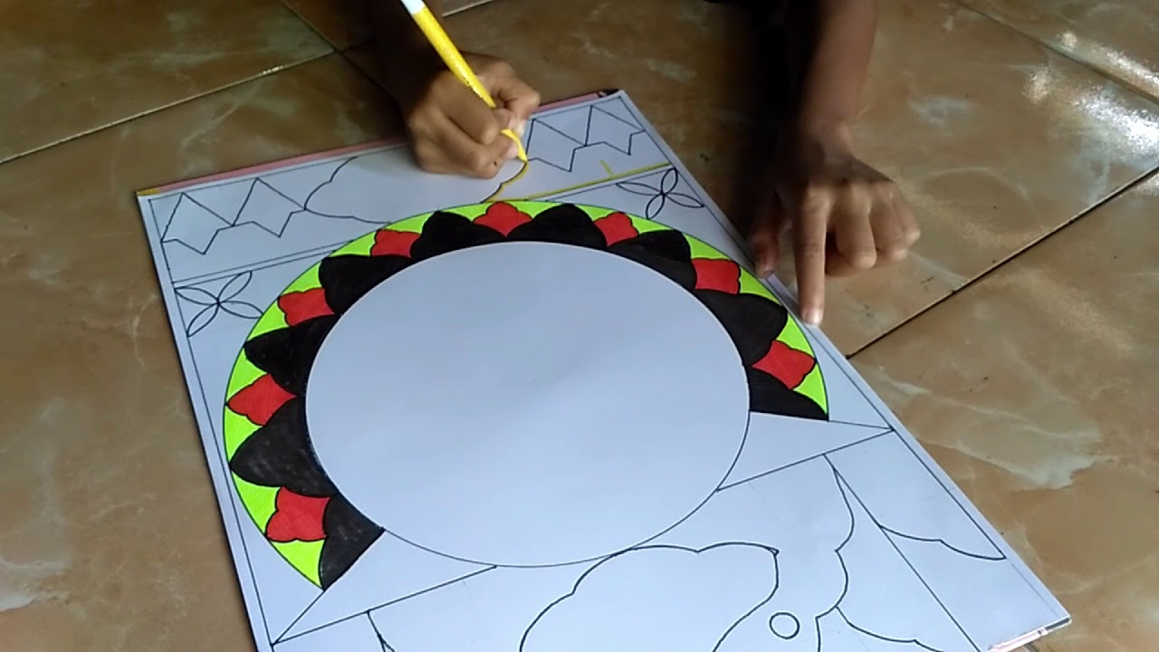 Cara Mudah Belajar Kaligrafi Hiasan Mushaf Surat An Nas Part 1