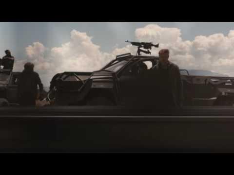 Logan (2017) Limo Chase Scene - Limo Train Scene Explained *SPOILER ALERT* uso de los trenes en el cine