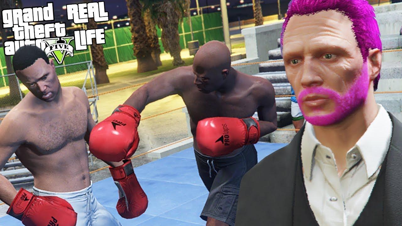 Meciuri de box pe GTA Real Life