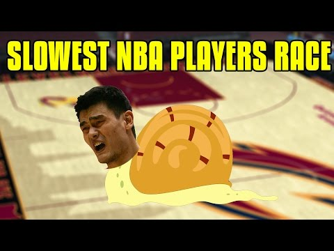 Who Is The Slowest Player In The NBA?  NBA 2K17 Gameplay!
