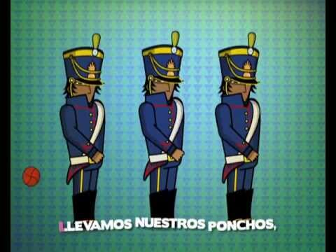 La marcha de los Andes (karaoke)