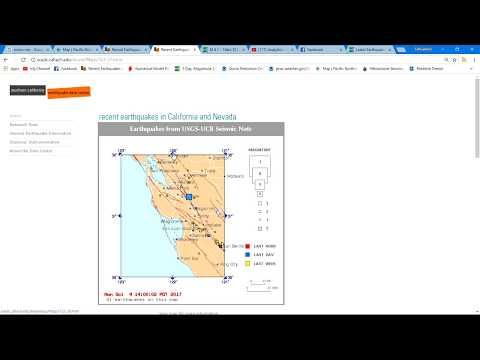 4.1 Earthquake San Jose, CA 10/9/2017