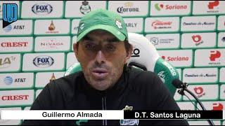 El estratega de Santos Laguna habló de cara el duelo de la Jornada 4 del Guardianes 2020 ante las Águilas en el Olímpico Universitario