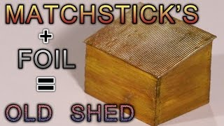 Old Wooden Shed – How-to – Model Railroad