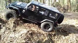 Axial scx10 jeep @ appelscha