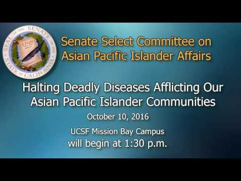 Senate Select Committee on API Affairs