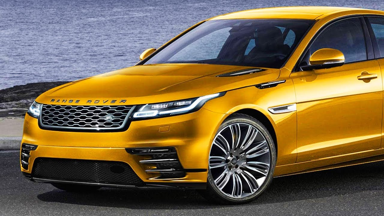 2019 Road Rover Velar Concept Luxury Electric Sedan From Range