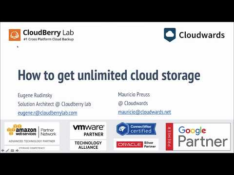 How to get unlimited cloud storage [webinar replay]