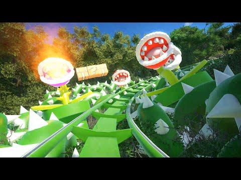 【4K60P】 プラネットコースター スーパーマリオオデッセイ・ザ・ ライド/Planet Coaster Super Mario Odyssey the ride