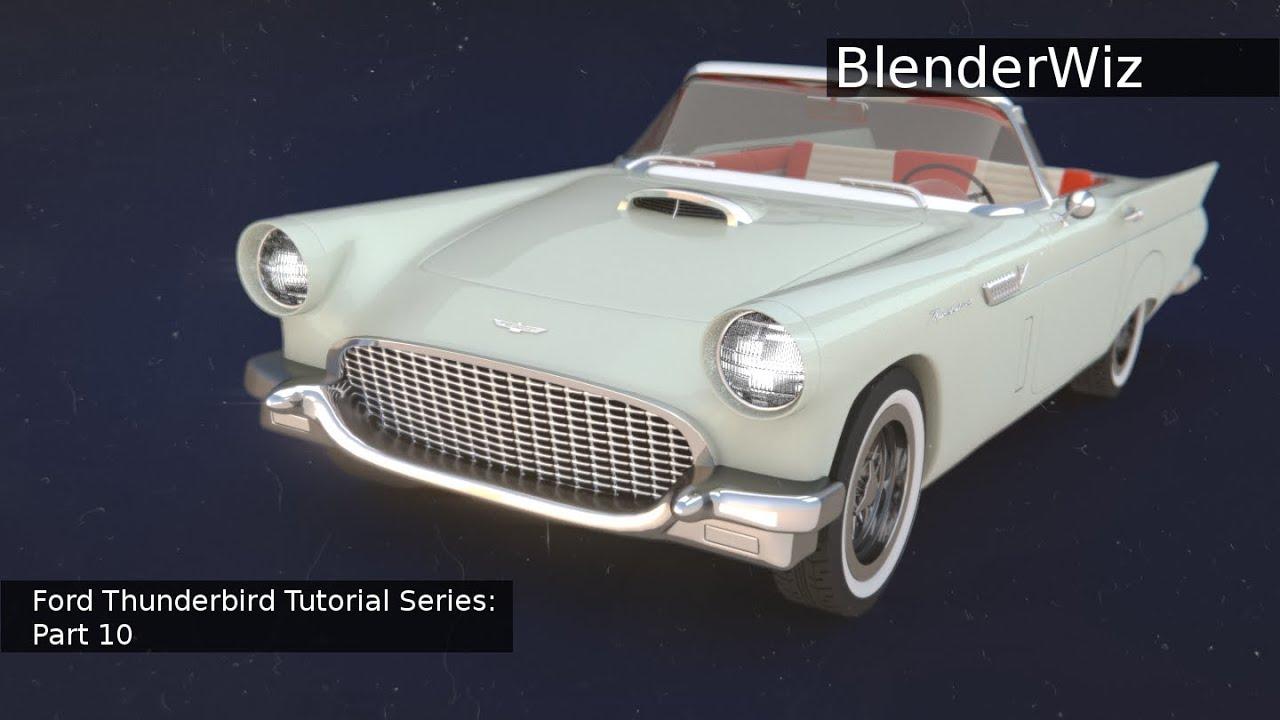1957 ford thunderbird tutorial part 10 [ 1280 x 720 Pixel ]