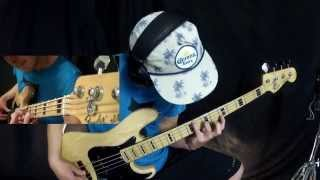 Portrait Of Tracy - Jaco Pastorius [Bass cover - Harmonics] (Fender Jazz Bass Deluxe)