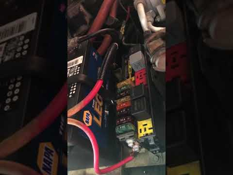 92 Jeep YJ Relay Fuse Box - YouTubeYouTube