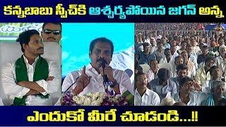 కన్నబాబు స్పీచ్ కి ఆశ్చర్యపోయిన జగనన్న | YS Jagan Shock On Kannababu Speech On Rythu barosa