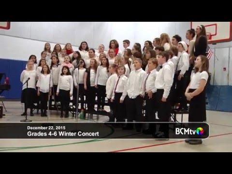 Brookfield Elementary School Winter Concert, Grades 4-6